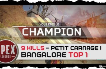 Apex Legends – TOP 1 Bangalore 9 kills !