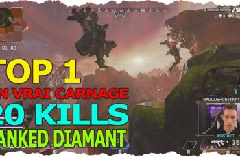 TOP 1 Ranked Diamant – 20 KILLS – UN VRAI CARNAGE SUR VOYAGE MIRAGE ! APEX LEGENDS