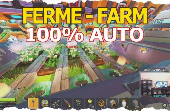 TUTO Ferme 100% automatique !! Farm 100% auto – Scrap Mechanic