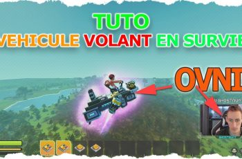 TUTO – Véhicule Volant en SURVIVAL ! Scrap Mechanic Flying Car