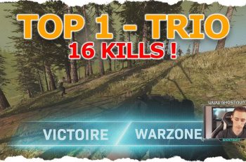 TOP 1 TRIO – 16 FRAGS – AVEC CITREX ET KILLERBAMBOU – COD WARZONE