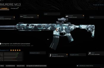 Mes classes sur Call of Duty Modern Warfare : Warzone