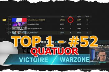 TOP 1 QUATUOR #52 – 15 KILLS – GameViewer ft Ninoukill & Amicale Ninka & Jef_955 – COD WARZONE
