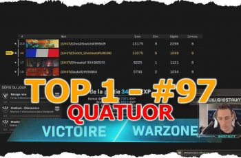 TOP 1 QUATUOR #97 – 6 KILLS – FT ChrisDStwitch & Hirasaka & Tayka92  – COD WARZONE