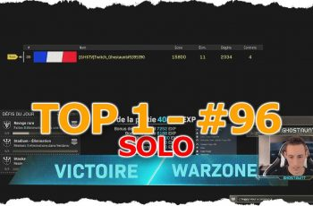 TOP 1 SOLO #96 – 11 KILLS EN SOLO GAME – COD WARZONE