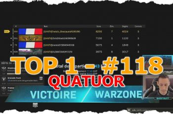 TOP 1 #118 – FEAT ChrisDStwitch & tremix & Olimatix – COD WARZONE